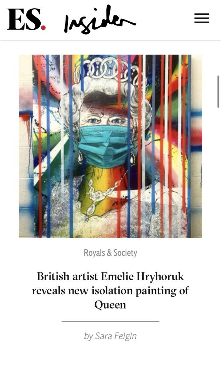 London Evening Standard Emelie Hryhoruk