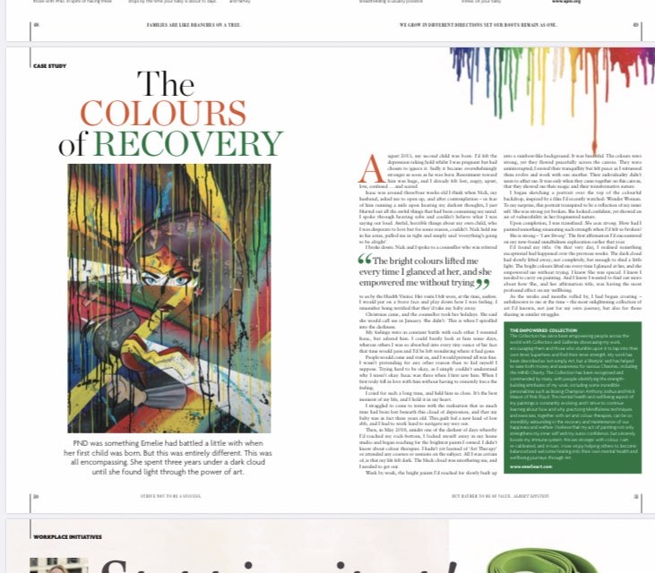 The Colours of Recovery, Mindset Magazine